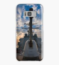 Guided-missile destroyer USS Higgins. Samsung Galaxy Case/Skin