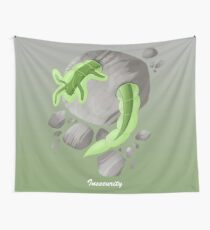 Emotion Creature Insecurity Wall Tapestry