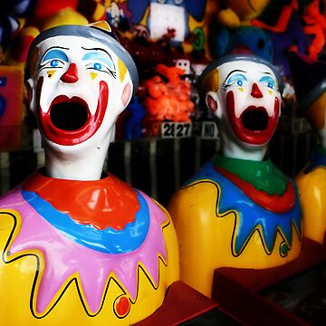 Sideshow Clowns by CathieT