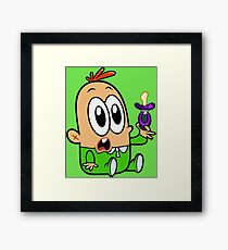 Baby Mikey Framed Print