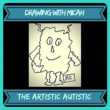 Drawing with Micah Logo  by PositiveAutism