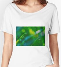 Morning Dewdrops V Women's Relaxed Fit T-Shirt