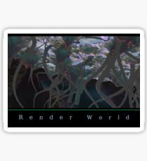 Utopia Garden 3RW Sticker
