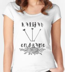 Kalijah Endgame - The Vampire Diaries - The Originals Women's Fitted Scoop T-Shirt