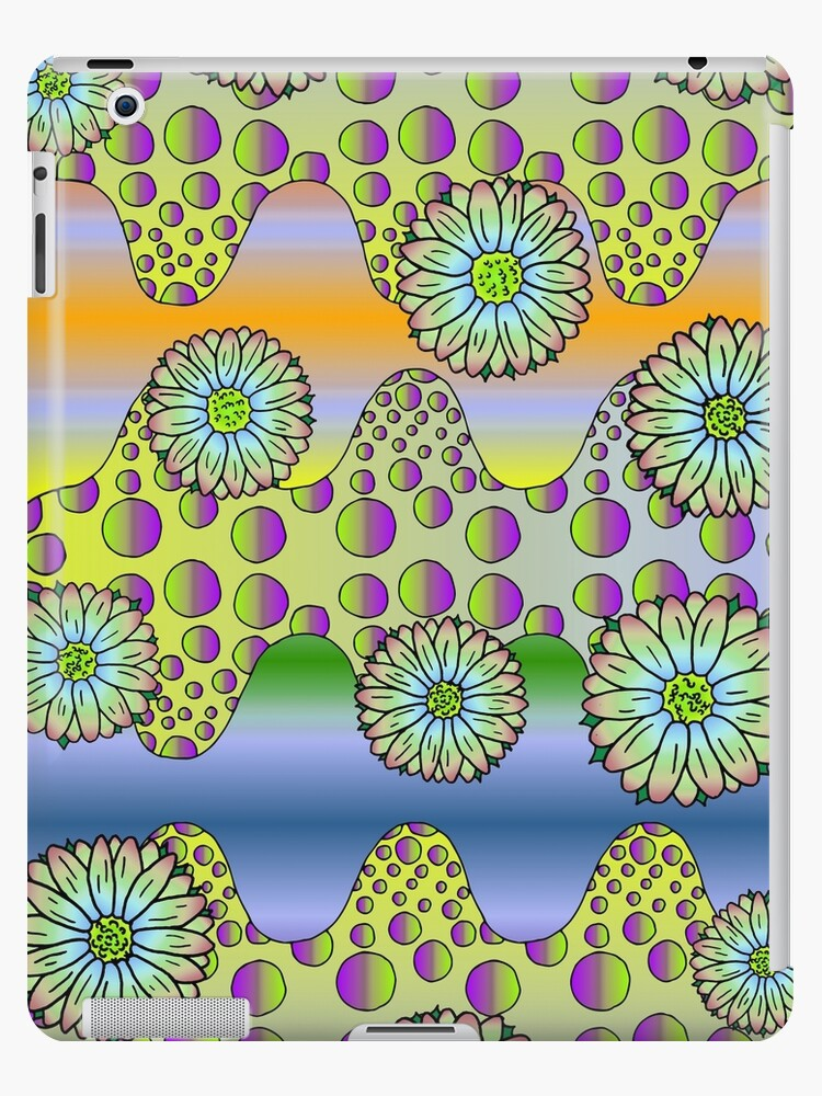 Psychedelic Daisies by cosmicesoteric