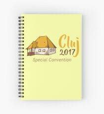 Romania Special Convention: Cluj 2017 Spiral Notebook