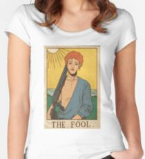 JAMES HOLMES THE FOOL Women's Fitted Scoop T-Shirt