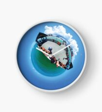 Pier Tiny Planet Clock