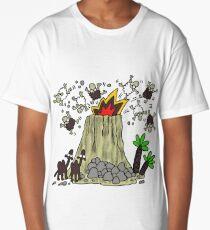 Lanzarote volcano Long T-Shirt
