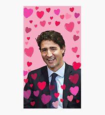 I <Heart> Justin Trudeau Photographic Print