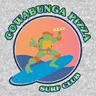 «COWABUNGA PIZZA SURF CLUB» de refritomix