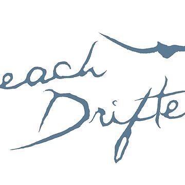 Beach Drifter Logo Blue by beachdriftercc
