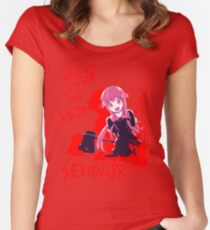 Will You Notice Me Now Senpai? - Gasai Yuno Women's Fitted Scoop T-Shirt