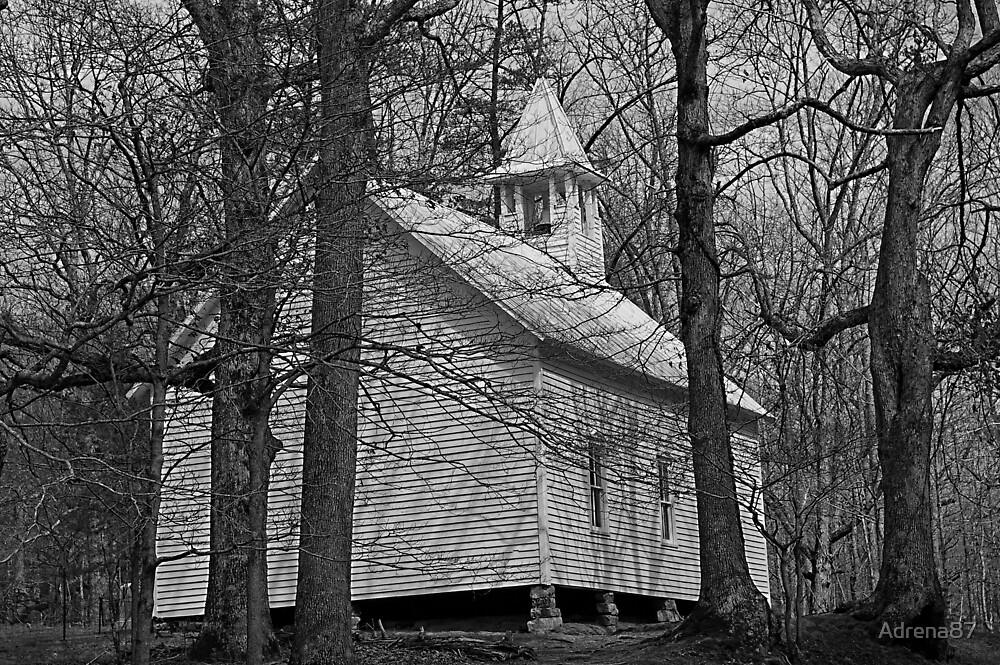 Primitive Church by Adrena87