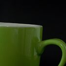 Green Mug by Rowan  Lewgalon