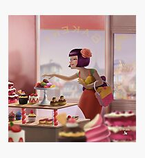 French Bakery Photographic Print