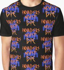 INVADERS MUST DIE III Graphic T-Shirt