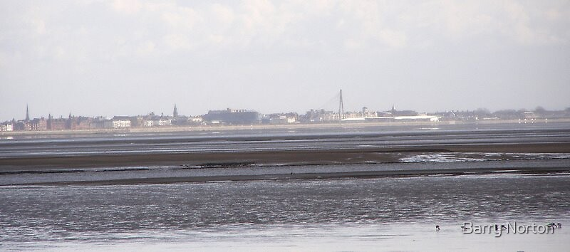 Southport from Granny's Bay St Annes by Barry Norton