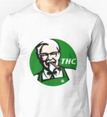 KFC PARODY THC Weed. Unisex T-Shirt