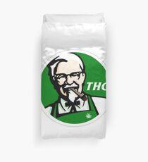 KFC PARODY THC Unkraut. Bettbezug