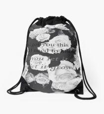 Roses- Shawn Mendes Drawstring Bag