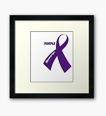 Fibromyalgia Support Framed Print