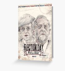 Election Day 2017 Greeting Card