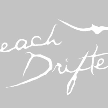 Beach Drifter Logo white by beachdriftercc