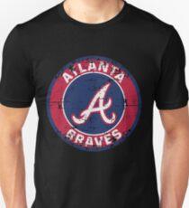 Atlanta Braves Baseball Club MLB-Distressed T-Shirt