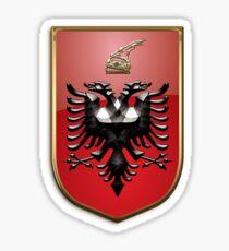Albania Coat Of Arms Sticker