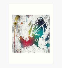 Ink Frusciante Art Print