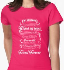 MY HUSBAND Womens Fitted T-Shirt