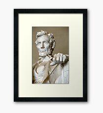 Gaze upon the Union saved Framed Print