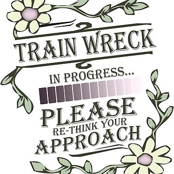 Train Wreck in Progress by bunnyboiler
