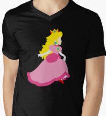 Princess Peach Deluxe Men's V-Neck T-Shirt