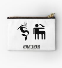 WHATEVER Just Wash Your Hands Studio Pouch