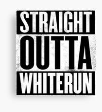 Skyrim - Straight Outta Whiterun Canvas Print