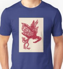 Red Flying Fairy T-Shirt