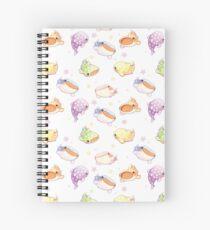 Cuaderno de espiral Tiburones ballena del arco iris