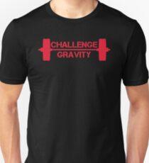 Challenge Gravity - Red Unisex T-Shirt