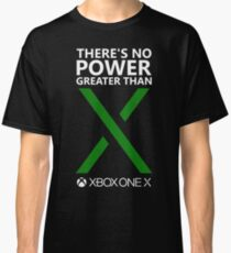 There's No Power Greater Than X (Green X) Classic T-Shirt