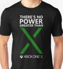 There's No Power Greater Than X (Green X) Unisex T-Shirt