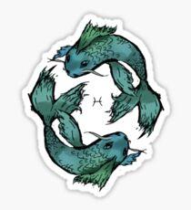 Pisces fish Sticker