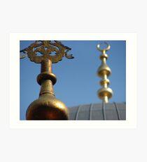 Yeni Cami Art Print