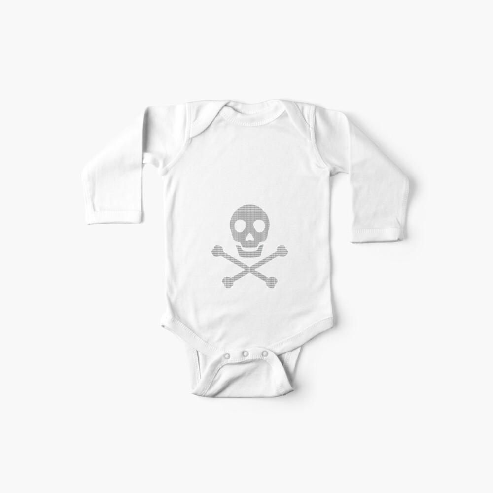 Hacker de computadora Body para bebé