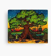 Wit Amba (big tree) Canvas Print