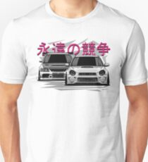 Impreza STI vs Lancer Evolution Unisex T-Shirt