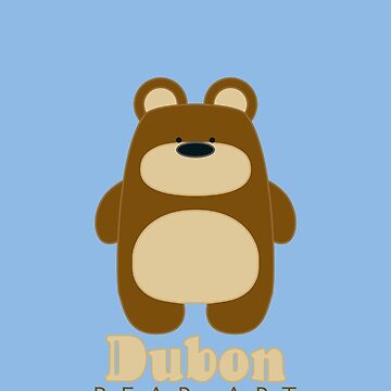 Dubon Bear Art - Pattern I by Dubon
