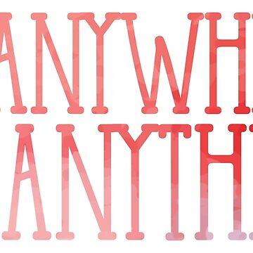 Überall gehen, alles tun (Pink) von its-anna