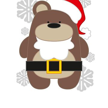 Santa Bear by Dubon